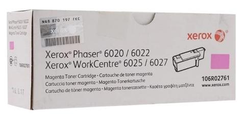 Оригинальный картридж Xerox 106R02761 пурпурный