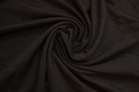 Хлопок кулирка черный (метражом)