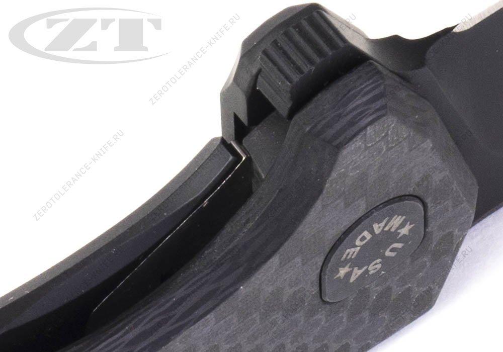 Нож Zero Tolerance 0804CF 20CV Rexford - фотография