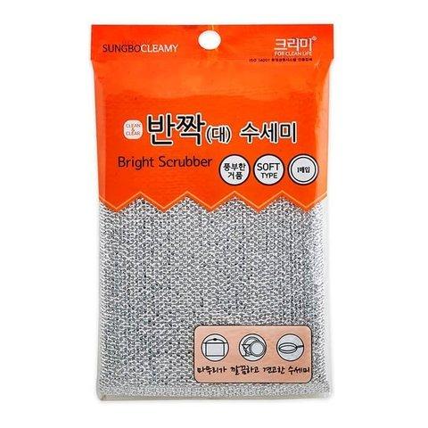 Компактная губка Sungbo Cleamy из нейлона для мытья посуды