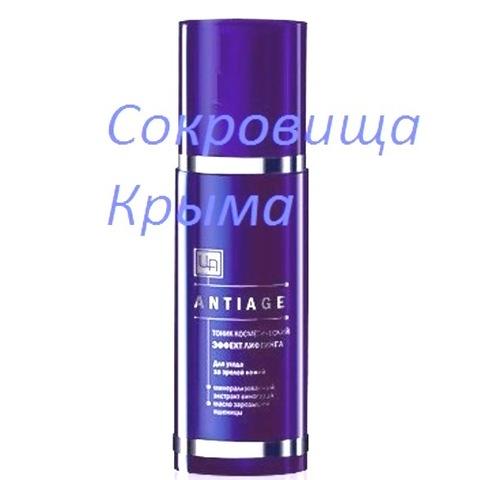 Тоник для ухода за зрелой кожей лица и шеи «ANTIAGE» ™Царство Ароматов
