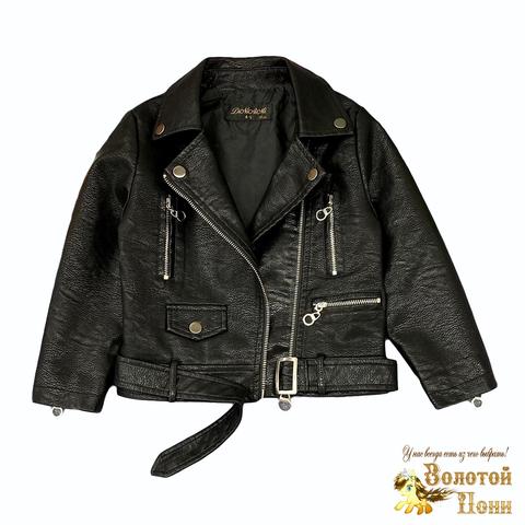 Куртка экокожа девочке (5-13) 210805-К77821