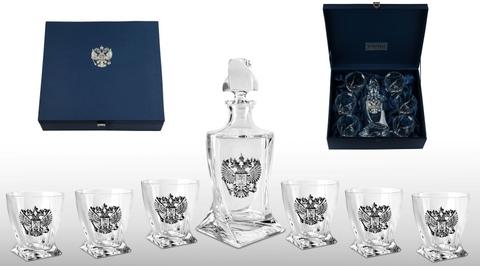 Подарочный набор для виски с графином «Империал»