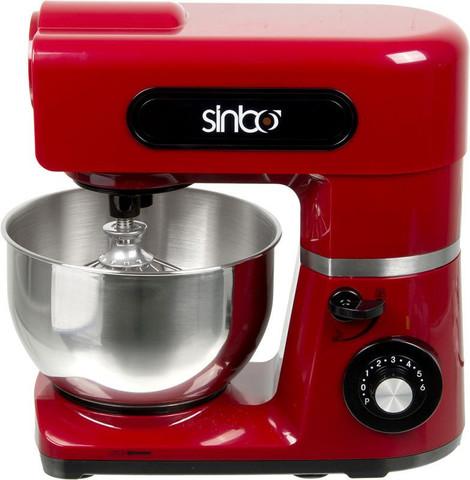 Миксер стационарный Sinbo, 800 Вт, красный