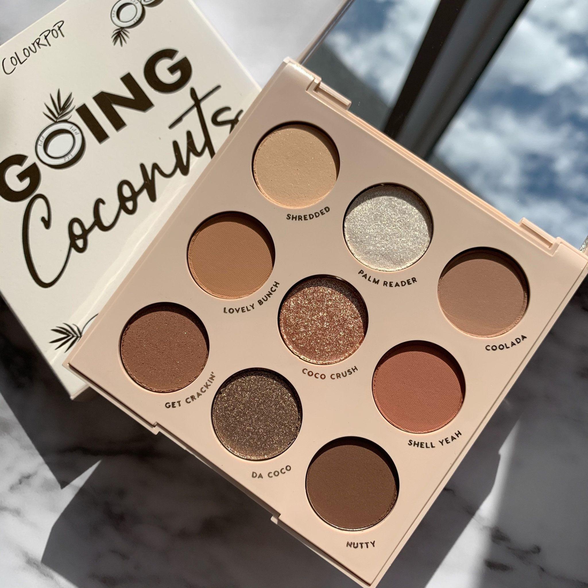 ColourPop Going Coconuts palette