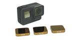 Набор фильтров PolarPro Cinema Series Filter 3-Pack с камерой