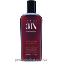 American Crew Power Cleanser Style Remover - Шампунь ежедневный для глубокого очищения 250