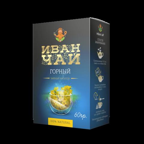Сибирский Иван-чай «Горный», 60 г