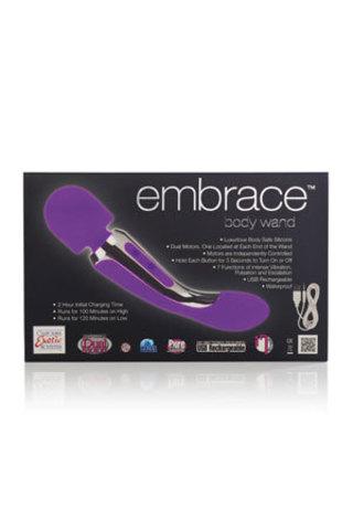 Универсальный вибромассажер Embrace Body Wand Massager двойного действия