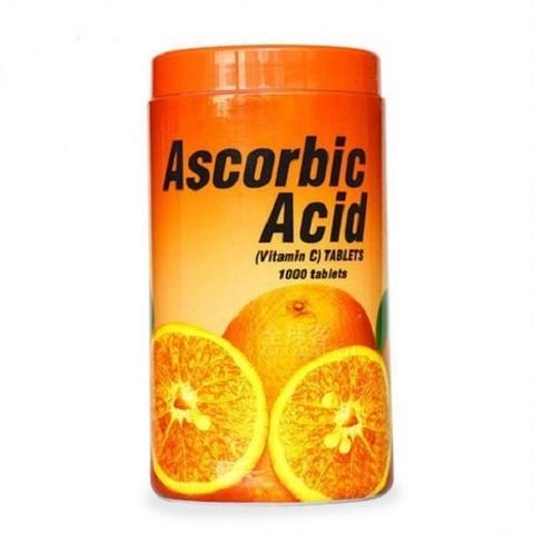 Аскорбиновая Кислота Patar Ascorbic Acid Vitamin C, 1000 таб.
