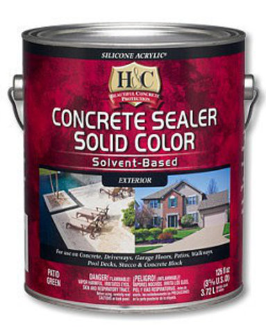 Solvent Based Sealer