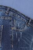 Джинсы для беременных (REGULAR) 09722 синий