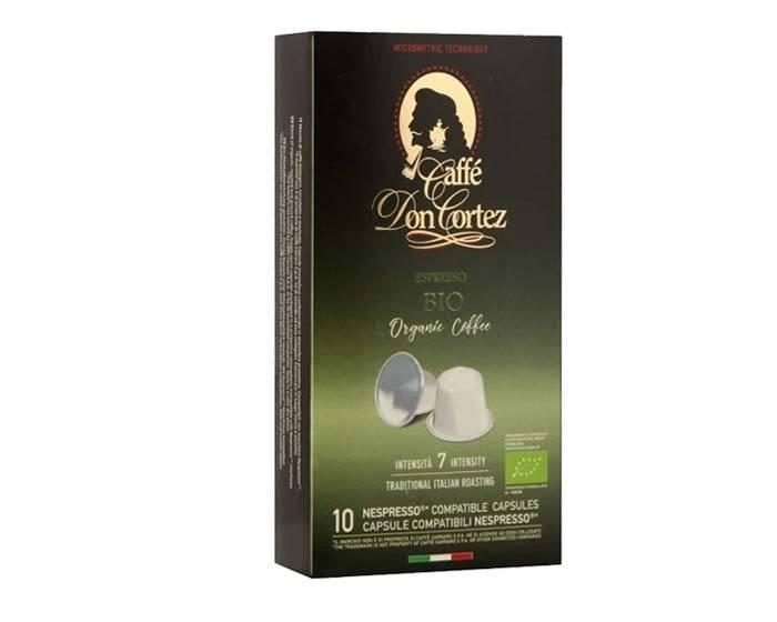 Кофе в капсулах Carraro Don Cortez Bio