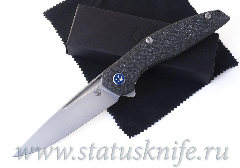 Нож Широгоров 111 М390 Долы Карбон White 3D MRBS