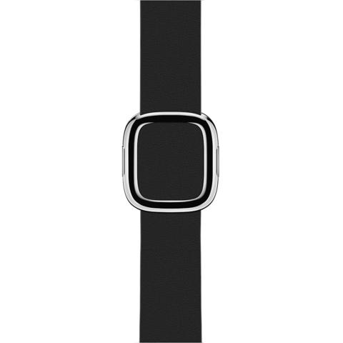 Ремешок Apple watch 38mm Modern Buckle Leather silver /black/