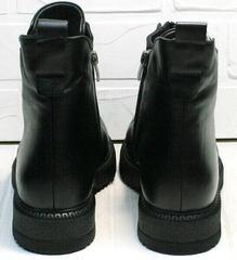 Черные женские  полуботинки демисезонные Tina Shoes 292-01 Black.