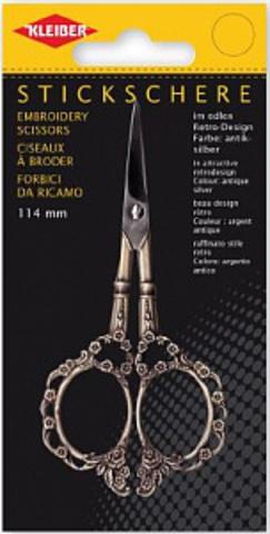 Kleiber Ножницы для вышивки, длина 11,4 см