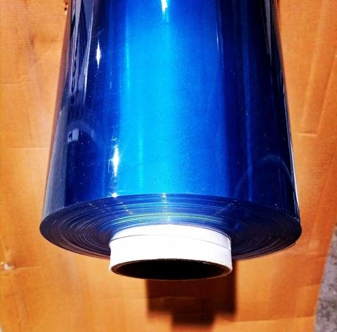 Плёнка прозрачная ПВХ, 650 микрон, Япония (30 п/м х 140 см, прозрачный)