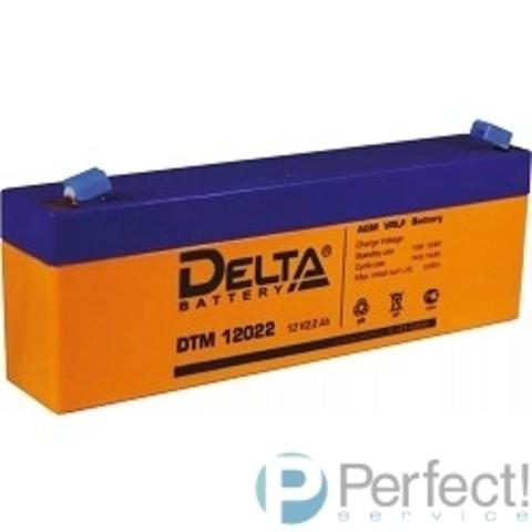 Delta DTM 12022  (2.2 А\ч, 12В) свинцово- кислотный аккумулятор
