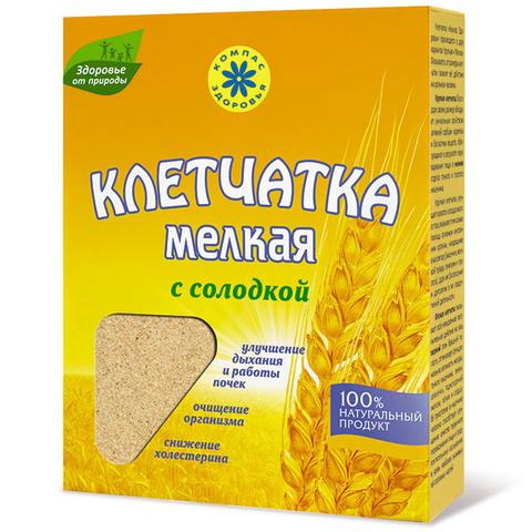 Клетчатка пшеничная, Компас Здоровья, мелкая,с солодкой, 200 г