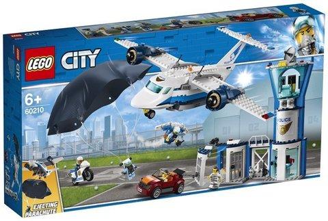 Lego konstruktor City SKY POLICE AIR BASE