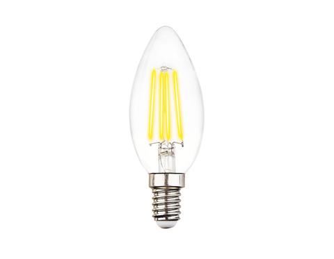 Светодиодная лампа Filament LED C37-F 6W E14 3000K (60W)