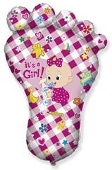 F Мини-фигура Ножка малышки, Розовый, 14''/36 см, 5 шт.