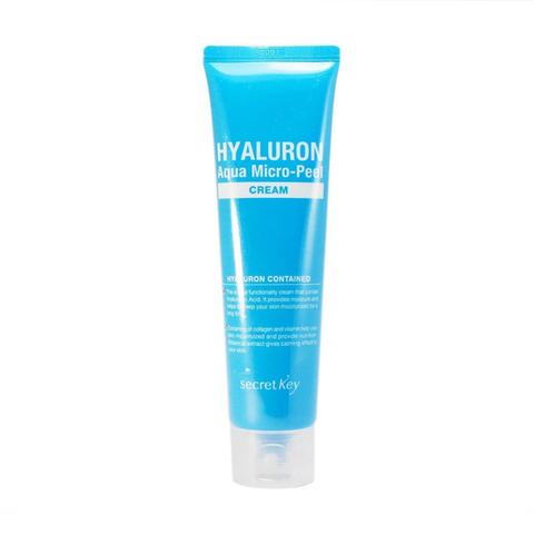 Secret Key Гиалуроновый крем для моментального увлажнения и омоложения кожи лица 70 мл - Hyaluron aqua soft cream