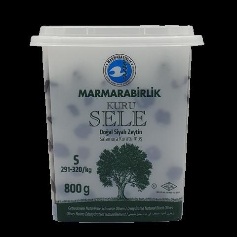 Маслины вяленые с косточкой без рассола (S) MARMARABIRLIK, 800 гр