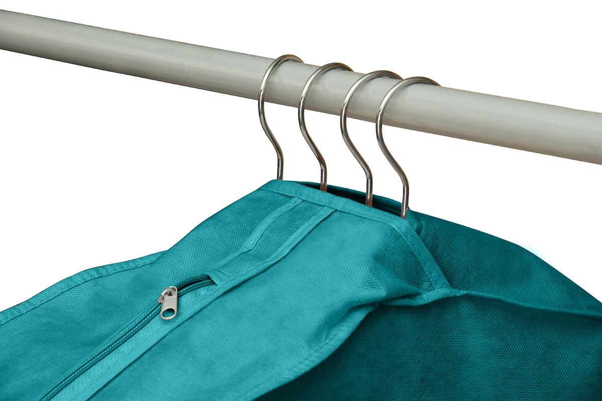 Чехол для одежды двойной длинный 130х60х20 см, Милан