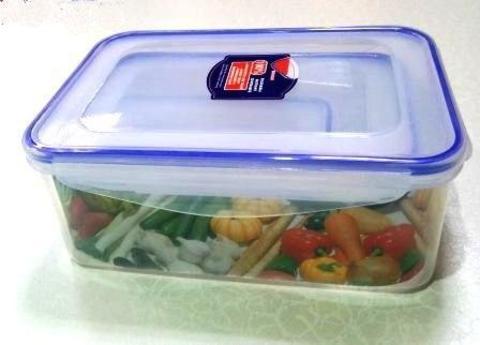 Контейнер пищевой герметичный 833/ набор 3шт,прямоугольный