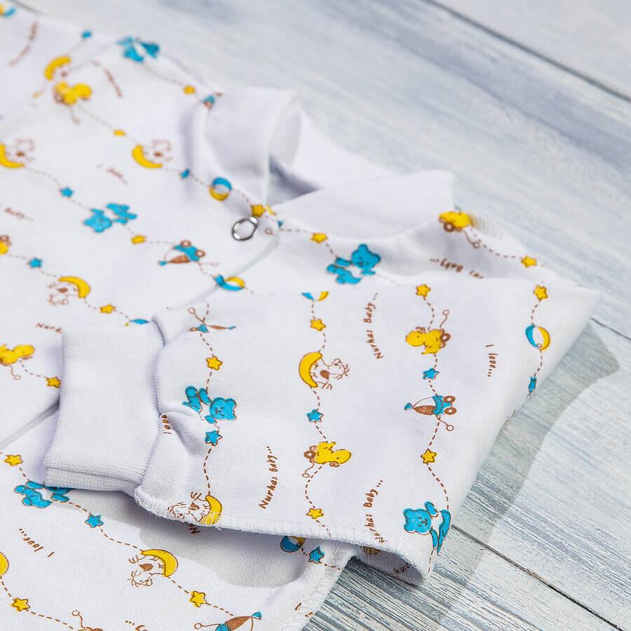 Комбинезон с начесом для новорожденных