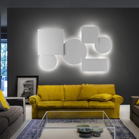 Накладной светильник Studio Italia Design Puzzle Mega