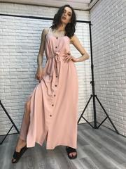 Длинный сарафан розовый Nadya