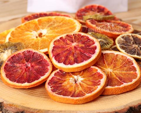 фруктовые чипсы из цитрусовых в наборе