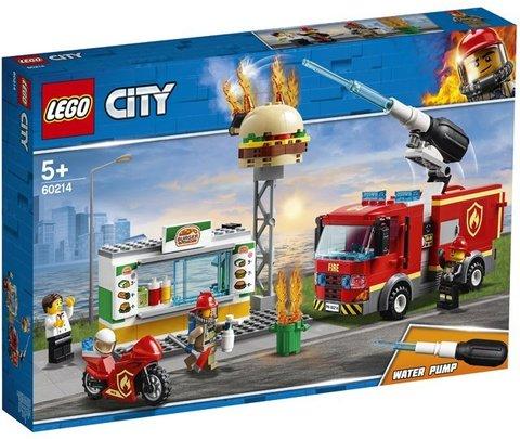 Lego konstruktor City Burger Bar Fire Rescue