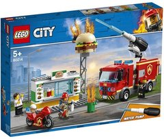 Lego konstruktor City Burger Bar Fire Rescue