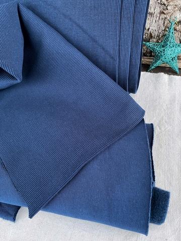 Кашкорсе к футеру с начесом, Королевский синий