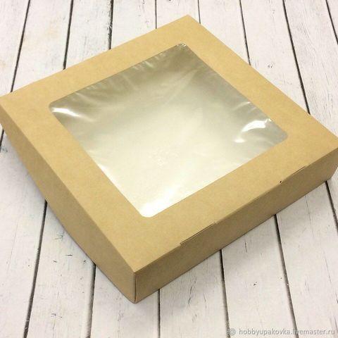 Коробка  для пряников, 20*20*4 см