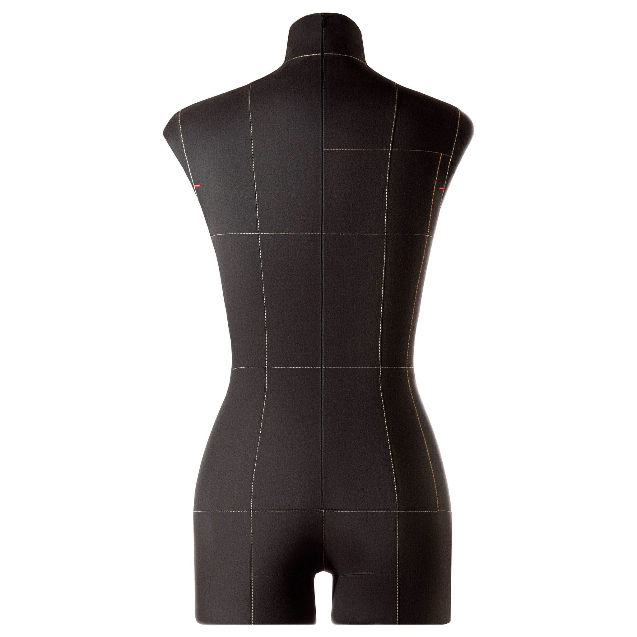 Манекен портновский Моника, комплект Про, размер 42, ЧерныйФото 2