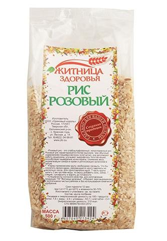 Рис Розовый, 500 гр. (Житница здоровья)