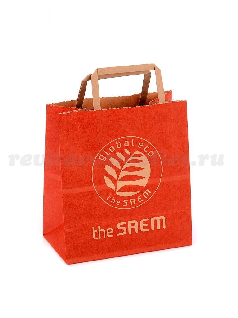 the SAEM Сумка (Store Sundries)Shopping Bag - kraft(S) (200*110*210) i19934_1476982070_5.jpg