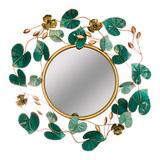 Зеркало настенное Цветочная симфония 71,8*75,6 см, артикул 680-128, производитель - Lefard