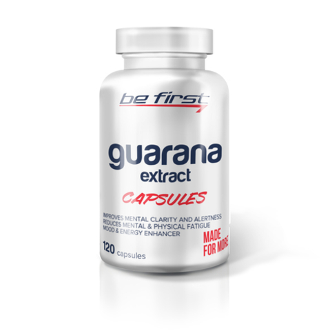 Be First Guarana Extract Capsules 120 капсул