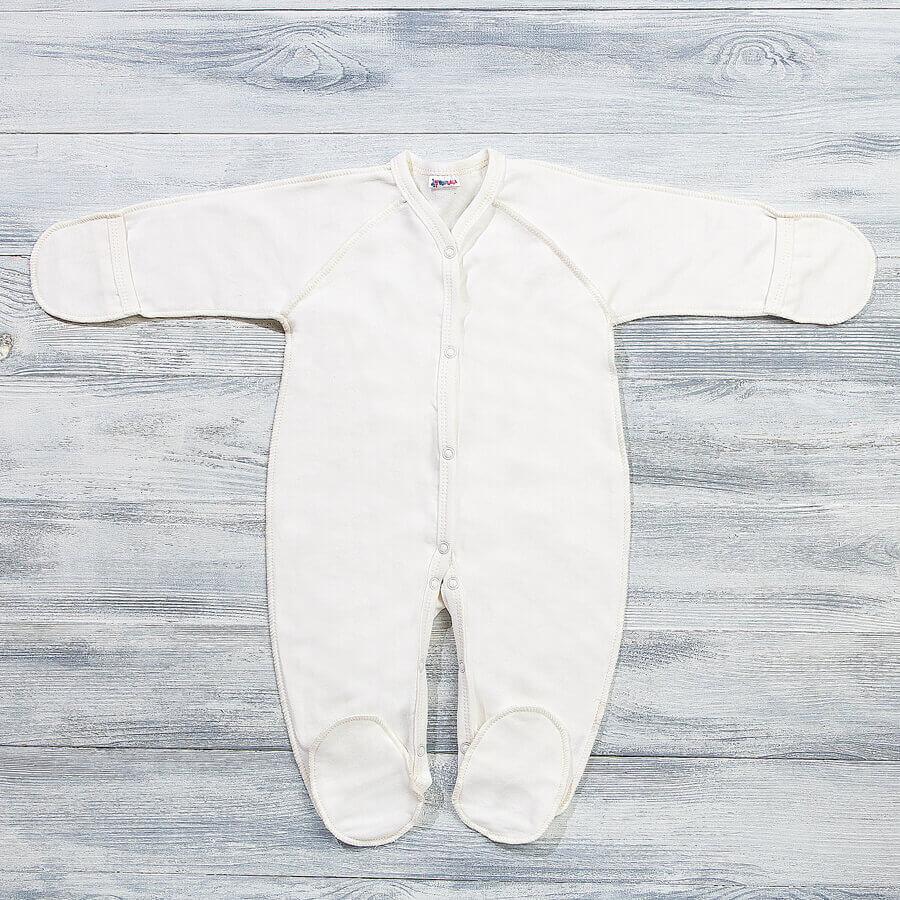 Комбинезон трансформер с начесом для новорожденных