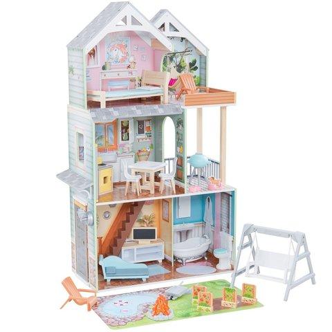 KidKraft Хэлли - кукольный домик с мебелью 65980_KE