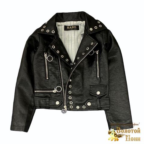 Куртка экокожа девочке (5-10) 210805-К77822