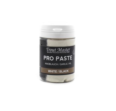 Форелевая паста SPRO Trout Master Pro Paste Garlic - White / Black (чеснок бело-чёрный)
