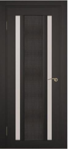 Дверь Zadoor Римини джута, цвет венге, остекленная