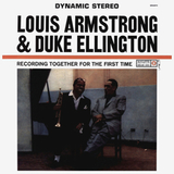 Louis Armstrong & Duke Ellington ‎/ Recording Together For The First Time (LP)